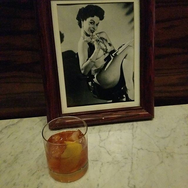 @TheFamousBar E.h. Taylor old fashioned Happy world whisky day