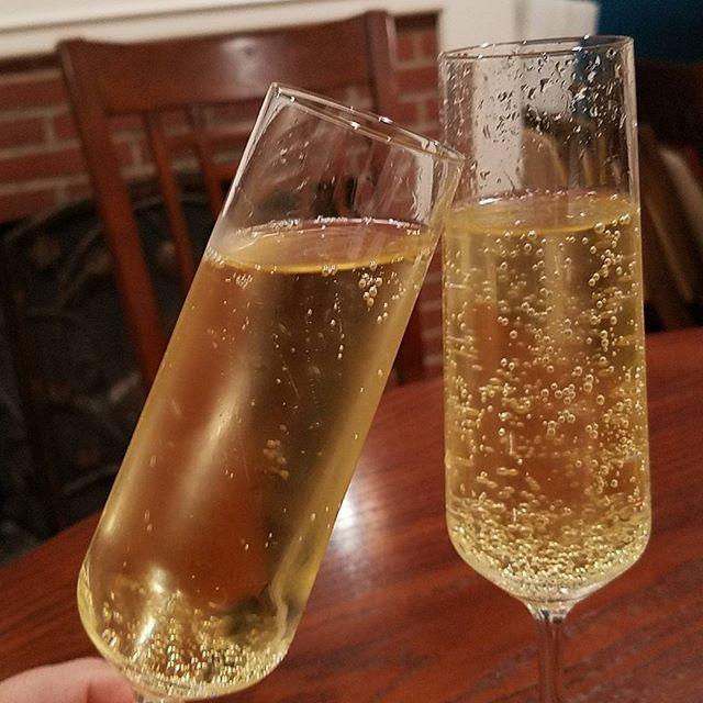 Cheers!  Lamarca prosecco.