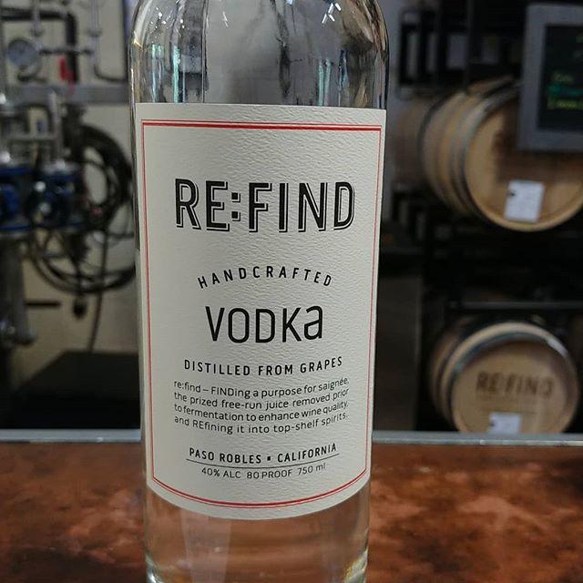 Spirits tasting at Re:Find  Vodka, gin, [E], lemoncello and kumquat liqueur.  Really nice spirits made from grapes.  Robles